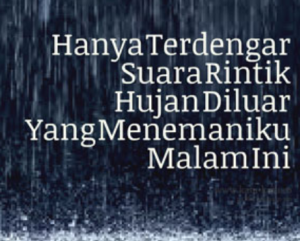 gambar  foto sedih malam minggu hujan