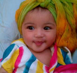 gambar bayi cantik banget lucu dan imut islami berjilbab