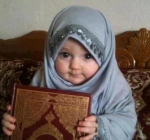 gambar bayi muslimah