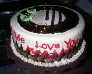 gambar fofo kue ulang tahun untuk ibu