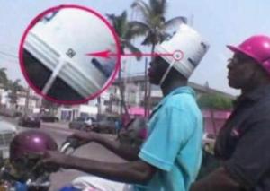 gambar helm aneh