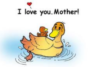 gambar kartun ucapan hari ibu keren