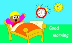 gambar kata kata selamat pagi menjelang siang lucu