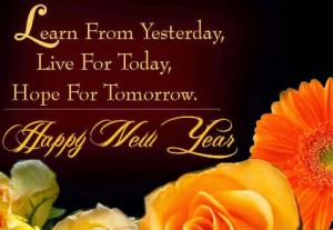 gambar kata mutiara ucapan tahun baru 2015 romantis