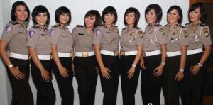 kumpulan gambar polisi cantik dan polisi jelek