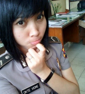polisi wanita cantik bikin jatuh cinta