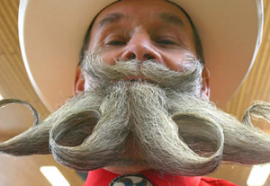 gambar kumis lucu unik