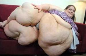 ini adalah wanita yang memiliki berat hingga 500 kg lebih
