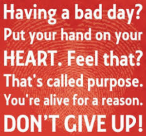 inspiration say for bad day
