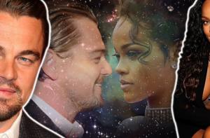 Rihanna and Leonardo DiCaprio party
