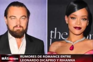 Rihanna and Leonardo DiCaprio pictures