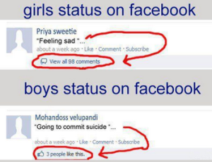 funny facebook jokes put your status