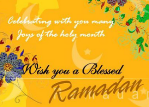 How do we welcome the blessed month of Ramadan