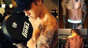 Justin Bieber's Shocking Body Evolution,  bieber body rock lyrics