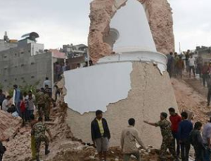 Kathmandu on Edge After Deadly Quake Ravages Nepal Nepal earthquake
