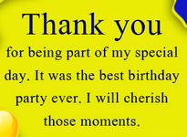 Thank You Messages for Birthday To Friends Or Lover On Facebook