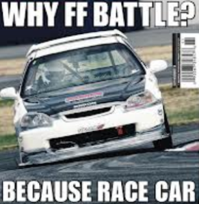 Funniest racing pict