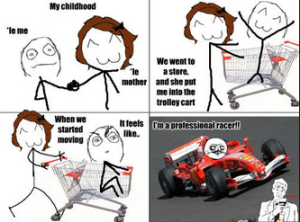 Racing Cartoons and Comics memes