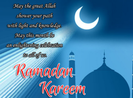 Ramadan Kareem Greeting Messages 2015