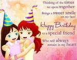 Happy Birthday To a Good Friend