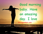Beautiful sweet romantic morning messages For Her