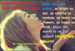 Collections Happy New Month Messages 2015