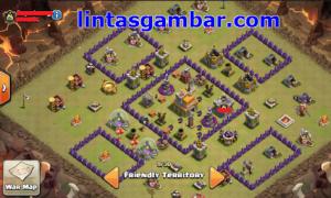 base anti naga th 7 ini lumayan bikin clan war kapok