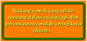 DP BBM Kata Kata Anak balap Motor Drag Racing