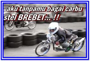 Gambar DP BBM Kata Kata Anak Motor Drag Racing