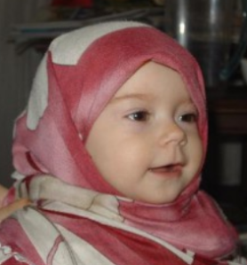 Massya Allah cantiknya anak bayi ini