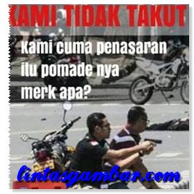 Meme Bom Sarinah #KamiTidakTakut