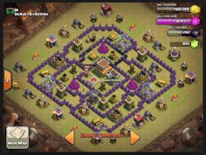 Base war TH 8 anti Gowipe dan naga, bisa juga untuk base biasa