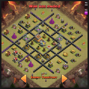 base war towhall TH 8 terkuat anti dragon