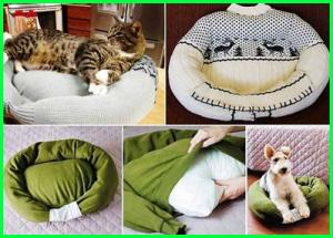 sweeter bekas kamu jangan kamu buang, kamu bisa menyulapnya menjadi tempat tidur binatang piaraan kamu