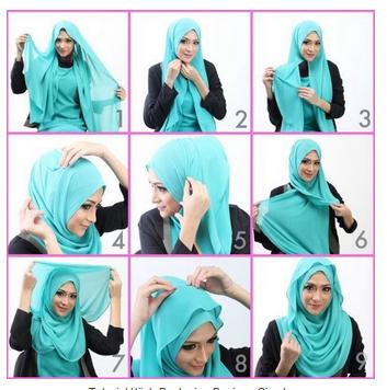 tutorial hijab femina yang mudah style dan simpel