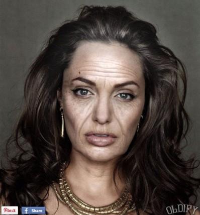 Angelina Jolly ketika tua