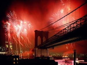 CelebrationBrooklynBridgeNewYorkCity