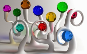 Colorful-Glass-Balls-HD-Wallpaper