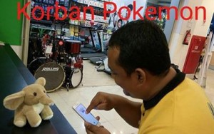 Korban Pokemon-go