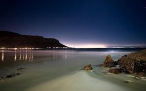 night-at-beach