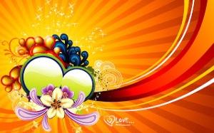 ValentineVectorDesignWallpaper