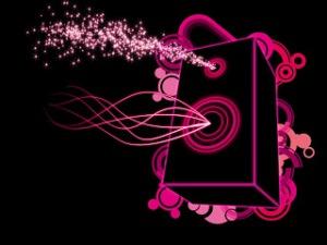 Wallpaper HD Keren Untuk Dekstop Dan Android- pink-speaker-001
