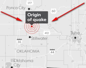 Foklahoma quakes prompt oil gas companies shut down